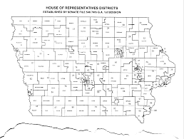 Iowa Counties Map The Iowa Official Register Table Of Contents