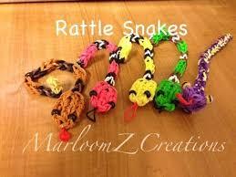 charm snake bracelet images Rainbow loom rattle snake charm gomitas serpent jpg