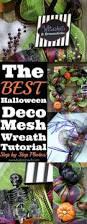 halloween deco mesh wreath tutorial big bear u0027s wife