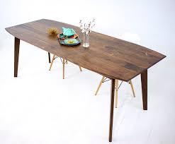 mid century walnut dining table mid century dining table furniture ege sushi com mid century