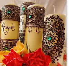 bougie hennã mariage de 14 bästa bougies bilderna på