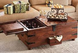 trunk coffee table set coffee table wooden chest coffee table set unique steamer trunk