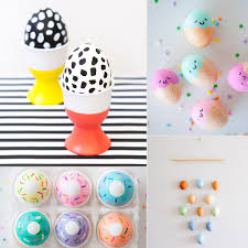 easter egg crafts popsugar moms