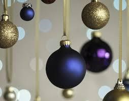 7 blue ornaments merry