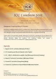 thanksgiving letter to colleagues full articles of icc news archive icc international