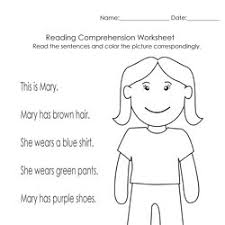 collections of printable worksheets for kindergarten reading