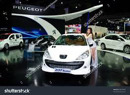 peugeot 207 sedan bangkok march 27 peugeot 207 sedan stock photo 98697848 shutterstock
