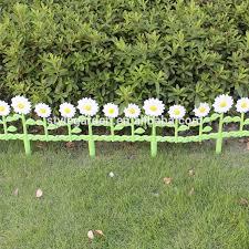 decorative border economic diy daisies garden fence view