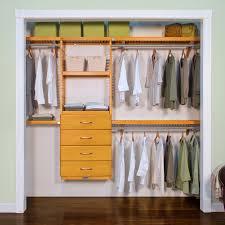 wood closet drawer organizer red mahogany or honey maple l john