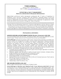 Property Manager Resume Example by Resume Samples Entertainment Industry