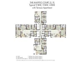 3 bhk apartment floor plan jaypee kalypso court floor plans