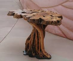 Coffee Tables Made From Trees This Table Is Made Of Branches Pruned From An Ancient Olive Tree