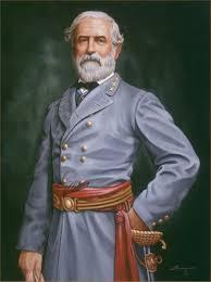 portrait artist rick timmons civil war portrait oil painting of geneal robert e lee