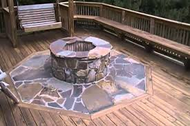 How To Build A Gas Firepit Gas Pit On Deck Design And Ideas Throughout Pits For Decks