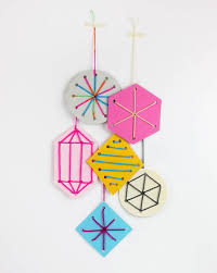 5 simple ornaments for to make handmade