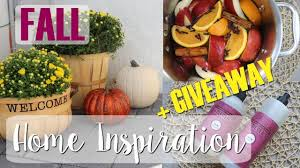 home decor giveaway fall home decor giveaway fall inspiration youtube