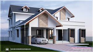 bedroom plan modern house designs villa exterior kerala home