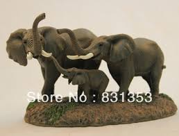 wholesale resin elephant figurines home garden decoration craft