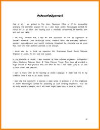 Sample Technical Resume by Internship Report Acknowledgement Sample For Internship Report