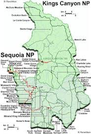 california map national parks best 25 sequoia national park map ideas on california