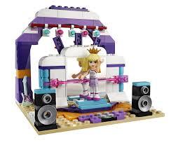 amazon com lego friends rehearsal stage 41004 toys u0026 games