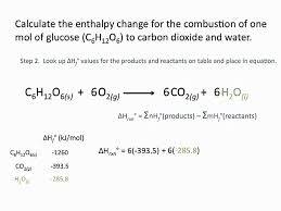 Standard Entropy Change Table Enthalpies Of Formation Chemsitry Tutorial