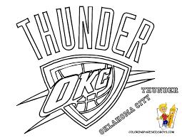 coloring download oklahoma city thunder coloring pages oklahoma