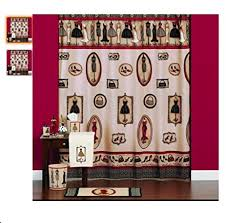 Fashion Shower Curtain Amazon Com Fashion Passion Shower Curtain With Bath Accessories