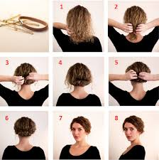 easy messy buns for shoulder length hair easy step by step hairstyles for medium hair fashionspick com