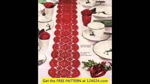 Crochet Table Runner Pattern Free Crochet Table Runner Free Patterns Youtube