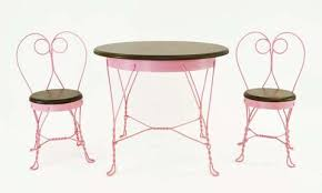 ice cream parlor table and chairs set antique reproduction childs ice cream parlor furniture set table