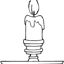 star bethlehem christmas candle coloring pages star