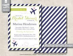 etsy wedding shower invitations travel themed bridal shower invitations diy visit etsy