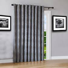 Blackout Patio Door Curtains Warm Home Designs 110 Wide Charcoal 100 Blackout Patio Door