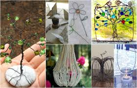 35 gorgeous diy wire crafts totally the bomb com