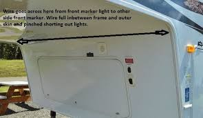 led clearance lights motorhomes finally solved the case of the intermittent trailer running lights