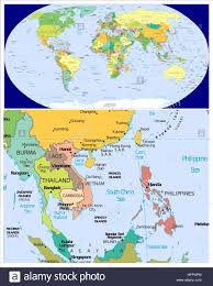 World Map Vietnam by Map Vietnam Cambodia Stock Photos U0026 Map Vietnam Cambodia Stock