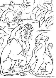 lion king young couple 41d2 coloring pages printable