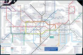 Subway Map by London Subway Map Travel Map Vacations Travelsfinders Com