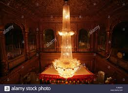 Chandelier India by Chandelier Golden Temple Amritsar Punjab India Asia Stock