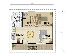 Two Bedroom Granny Flat Floor Plans Granny Flat Plans U0026 Designs From House Plans Queensland U2013 House