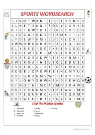 esl printable word games for adults sports wordsearch worksheet free esl printable worksheets made by