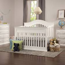 Graco Charleston Classic Convertible Crib Classic White by Davinci Brook 4 In 1 Convertible Crib With Toddler Rail Conversion