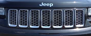 chrome jeep accessories grand cherokee summit chrome honeycomb grill insert item