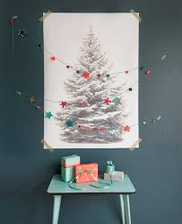 wall christmas tree 16 clever and creative christmas wall trees brit co