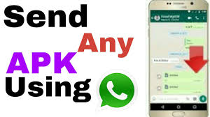 watsapp apk file how to send apk file via whatsapp 2017 how to send and apk