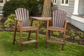 pvc adirondack chair plans outdoor eucalyptus chairs rocking bar height table and furniture gany sewing plastic