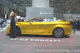 lexus lf c2 lexus lf c2 concept side view at 2015 geneva motor show indian