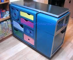 bureau repeint repeindre un bureau bureau avec 2 tiroirs repeint argent repeindre