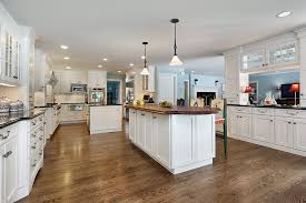 kitchen with two islands wood floors in white kitchen gen4congress com